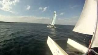GoPro NACRA 5.0 Catamaran Sailing