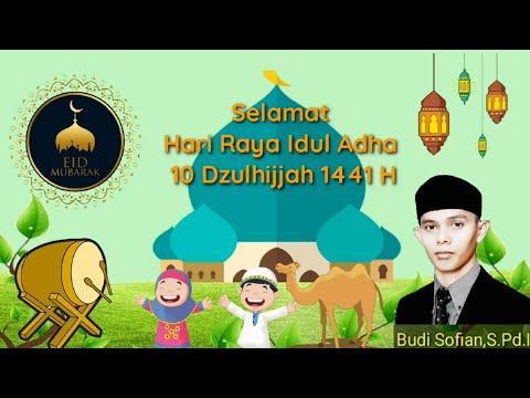 Ucapan Selamat Hari Raya Idul Adha 1441 H 2020 M Youtube