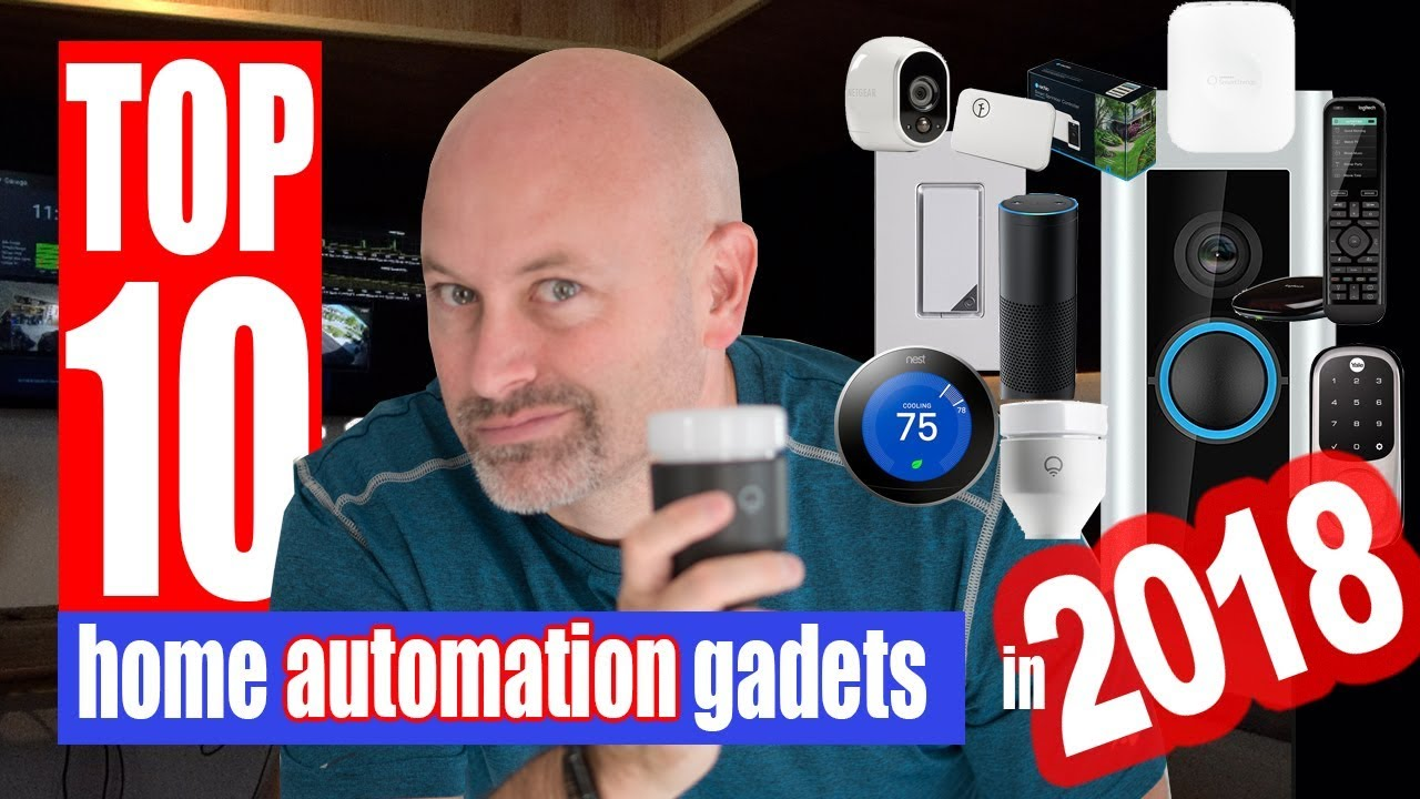 top 10 home automation gadgets 2018 youtube. Black Bedroom Furniture Sets. Home Design Ideas