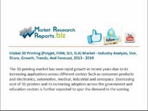 global 3d printing polyjet fdm sls The global 3d printing market here refers to the market by use, by technology, by application and by geography the market is categorized into the following segments:.