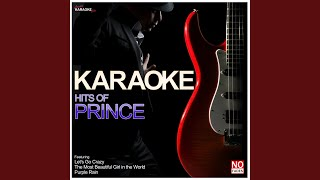 Little Red Corvette (In the Style of Prince) (Karaoke Version)