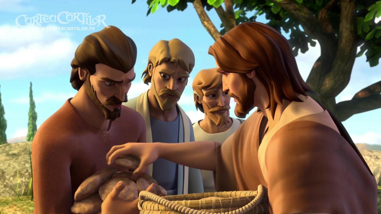 Poemul mântuirii - extras din episodul 4.01 - Isus hrănește mulțimile
