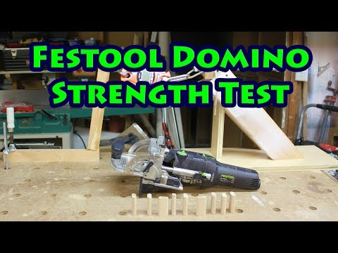 Festool Domino Vs Pocket Screw Strength Test!