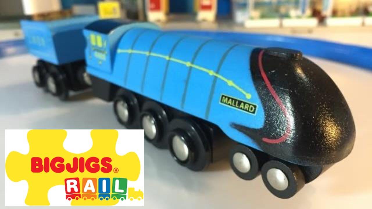 Mallard - Heritage Collection - Bigjigs Rail Choot choot ... Mallard Train Toy
