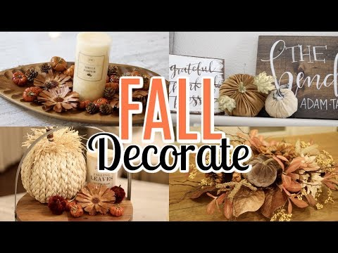 DECORATE FOR FALL WITH ME 2019! FALL DECOR IDEAS | Tara Henderson