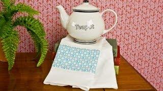 How To Sew A Tea Towel