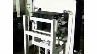 Semi automatic fly ash brick machine low price.