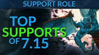 TOP SUPPORTS in Patch 7.15 | Dota 2 Guide