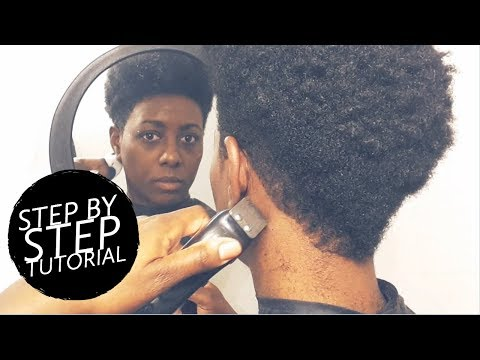 how-to-cut-a-tapered-faux-hawk-on-4b/4c-natural-hair-|-beautycutright