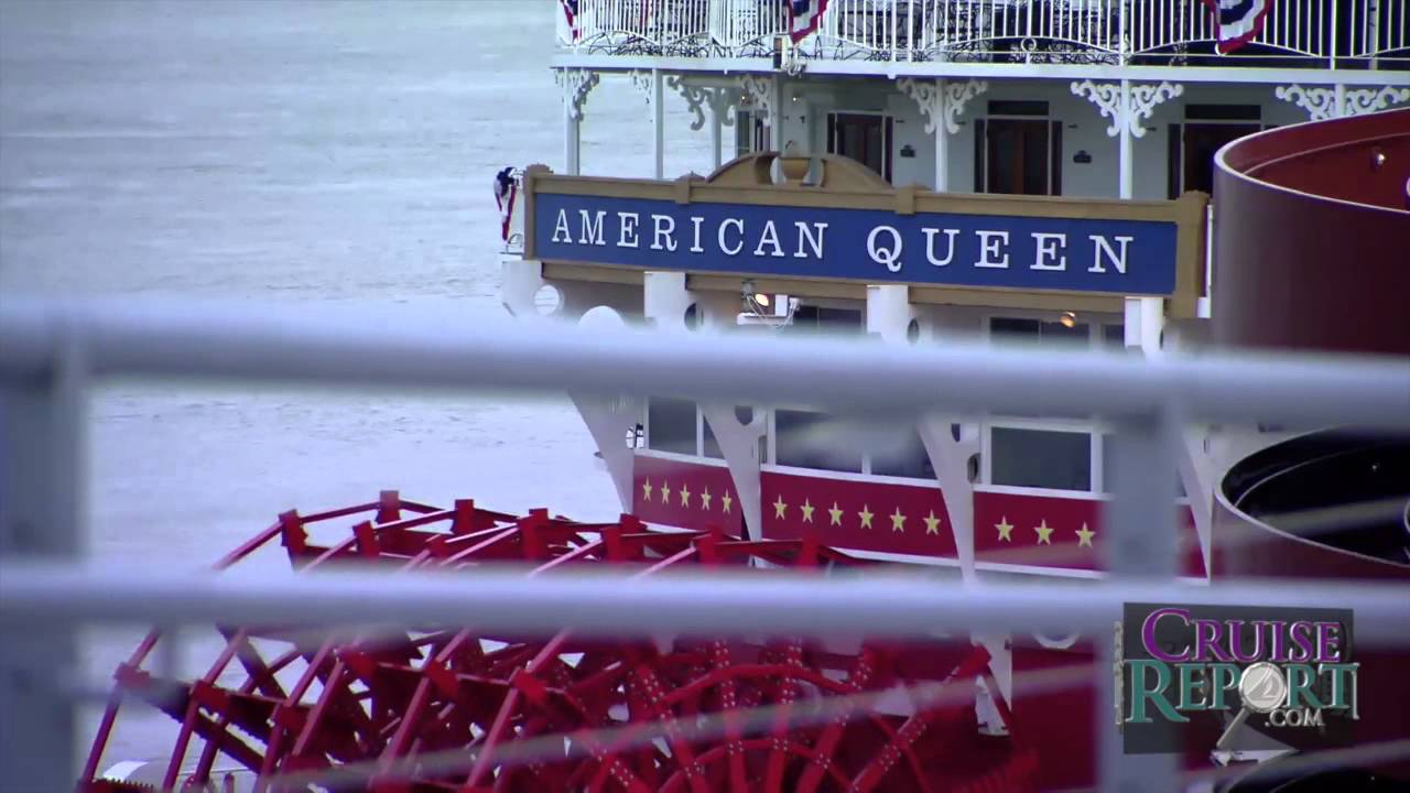 American Queen Steamboat Cruise Mississippi River Youtube