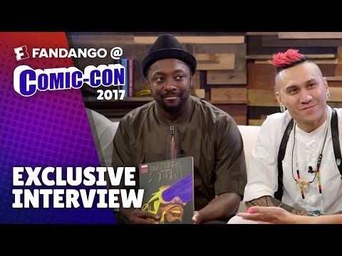 Black Eyed Peas Present New Marvel Comic 'Masters of the Sun' | Comic-Con 2017