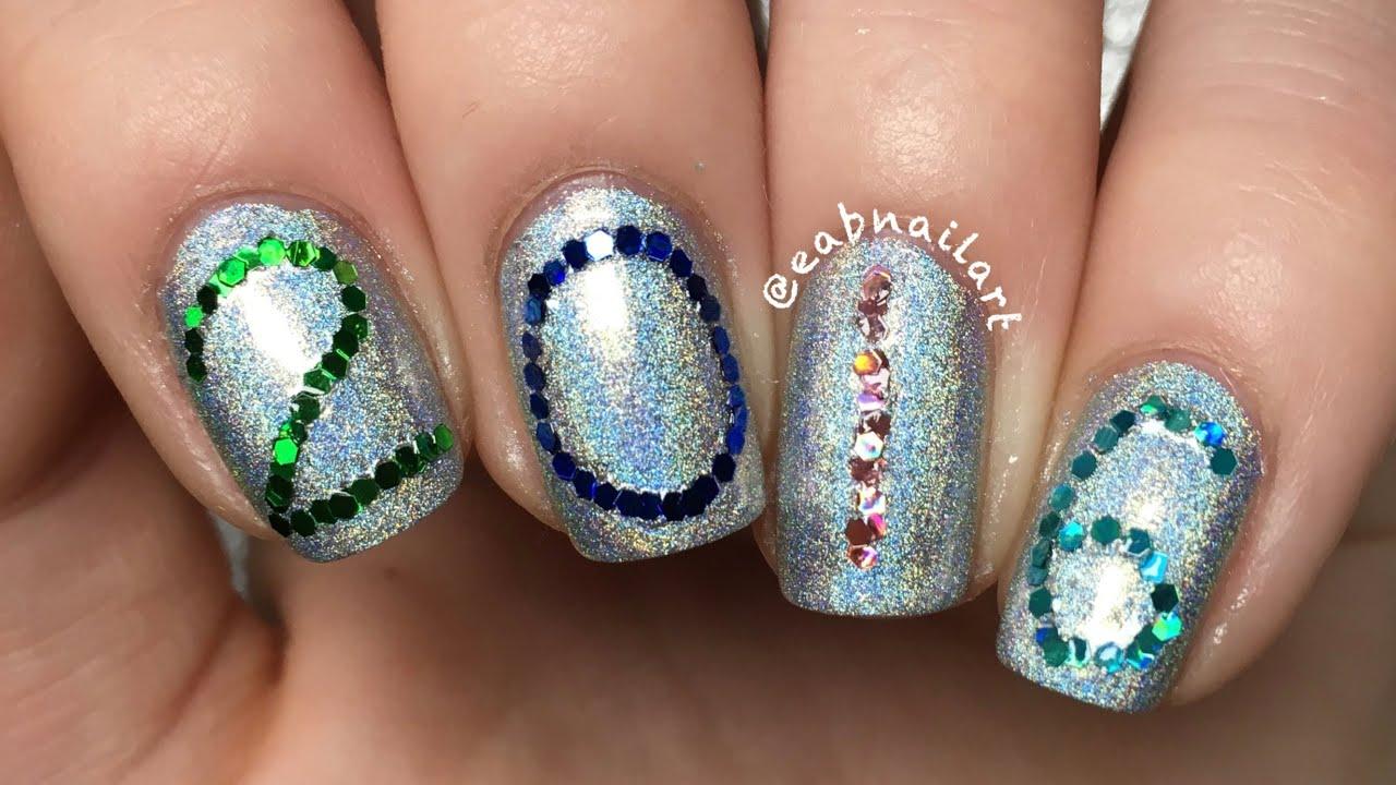 New Year\'s Nail Art! 2016 - YouTube