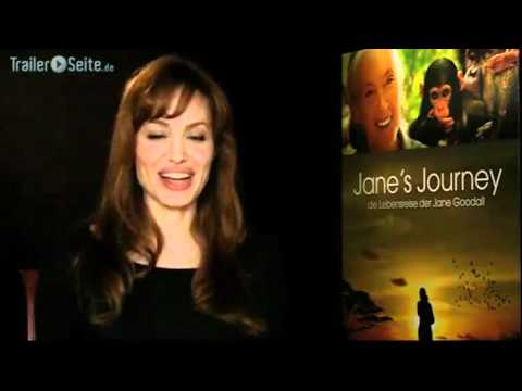 JANE´S JOURNEY - Interview with Angelina Jolie on the film and about Jane Joodall