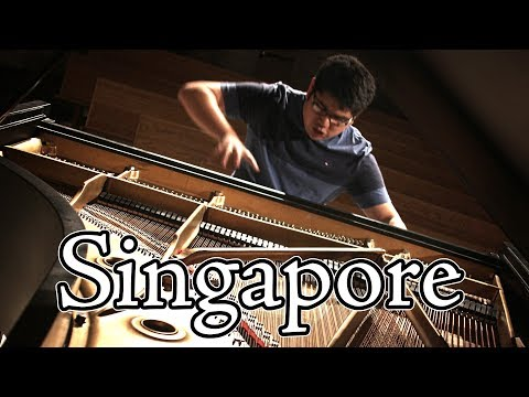 Singapore Anime Piano Concert - December 2017 (Theishter + Pianominion) 「YURI ON PIANO」