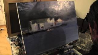 Научиться рисовать дом на воде, уроки живописи и рисунка(Полная версия видео и новые видеоуроки на http://saharov.tv Записаться на мастер-класс +7-915-331-60-53 КАЧЕСТ..., 2014-04-26T12:20:23.000Z)