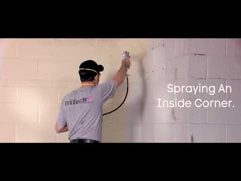 Tritech Paint Sprayers - How To Spray