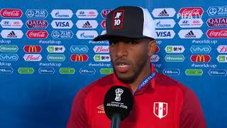 Jefferson FARFAN (Peru) - Post Match Interview - MATCH 21