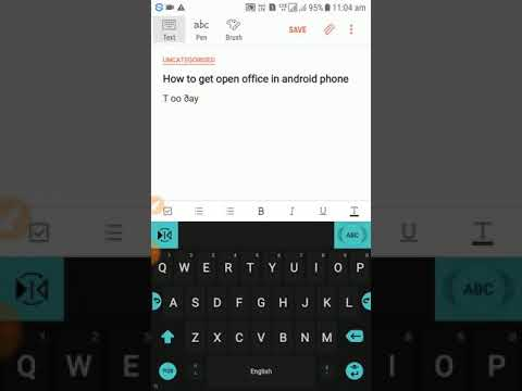 How To Get Open Office On Android
