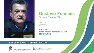 Gustavo Fonseca at GEF Live - Your digital window to the 57th Council