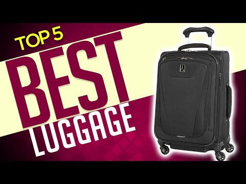 5 Best Luggage 2020 [Buying Guide]
