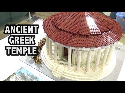 LEGO Ancient Greek Tholos Ionic Temple | Brick Fiesta 2017
