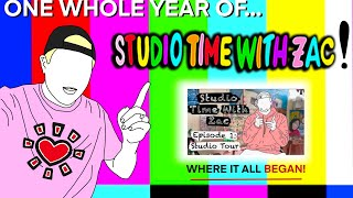 THE ONE YEAR ANNIVERSARY - Studio Time With ZAC #041 - Studio Upgrades & Plein Air Painting