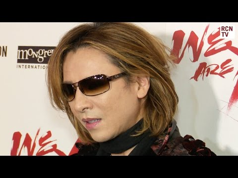 X Japan Yoshiki Arrives At We Are X London Premiere