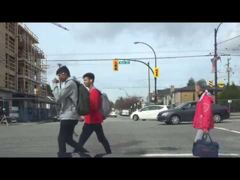 Vancouver CAR RIDE: CAMBIE ST/E. 49TH AVE, SOUTH VANCOUVER, Looking for Parking @ Vaisakhi Festival