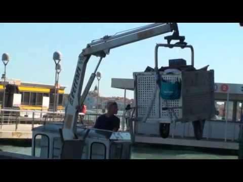Baltimore City Trash Skimmer Boat In The Inner Harbor Doovi