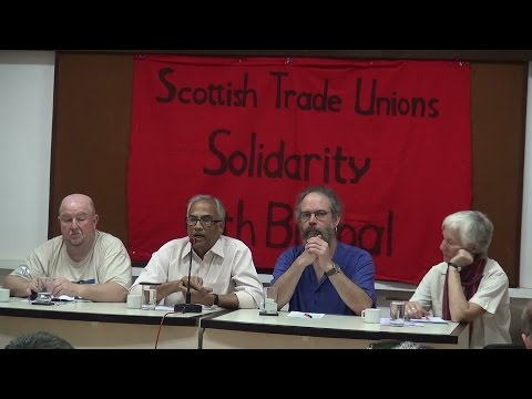 Scottish Trades Unions' Solidarity with 1984 Bhopal Gas Tragedy Victims