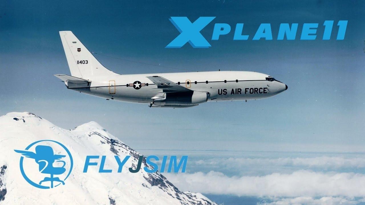 X Plane 11 | FLYJSIM T-43A | KNKX - KBYS | SAM FLIGHT