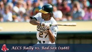 Oakland Athletics Comebacks Episode 11 - ALCS Rally vs. Red Sox (1988)