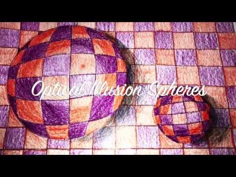Op Art Sphere Tutorial thumbnail