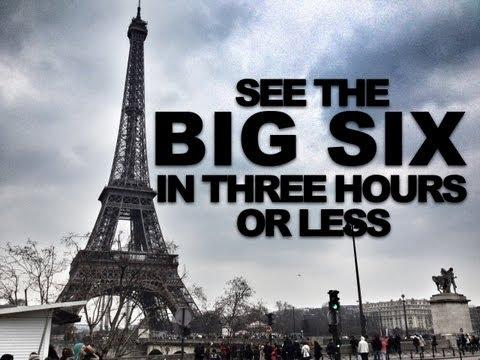Visit Paris' six biggest attractions in under 3 hours - VEDA 6