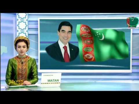 Watan habarlary Türkmenistan (23/10/2017) mp4