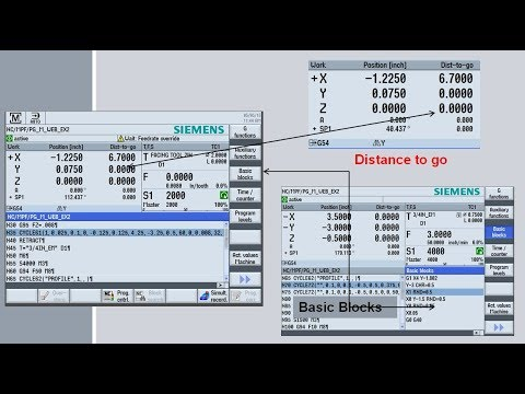 G Code Programming with ProgramGuide for Milling in the Siemens Sinumerik  Operate 840D & 828D