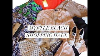 Myrtle Beach Shopping Haul