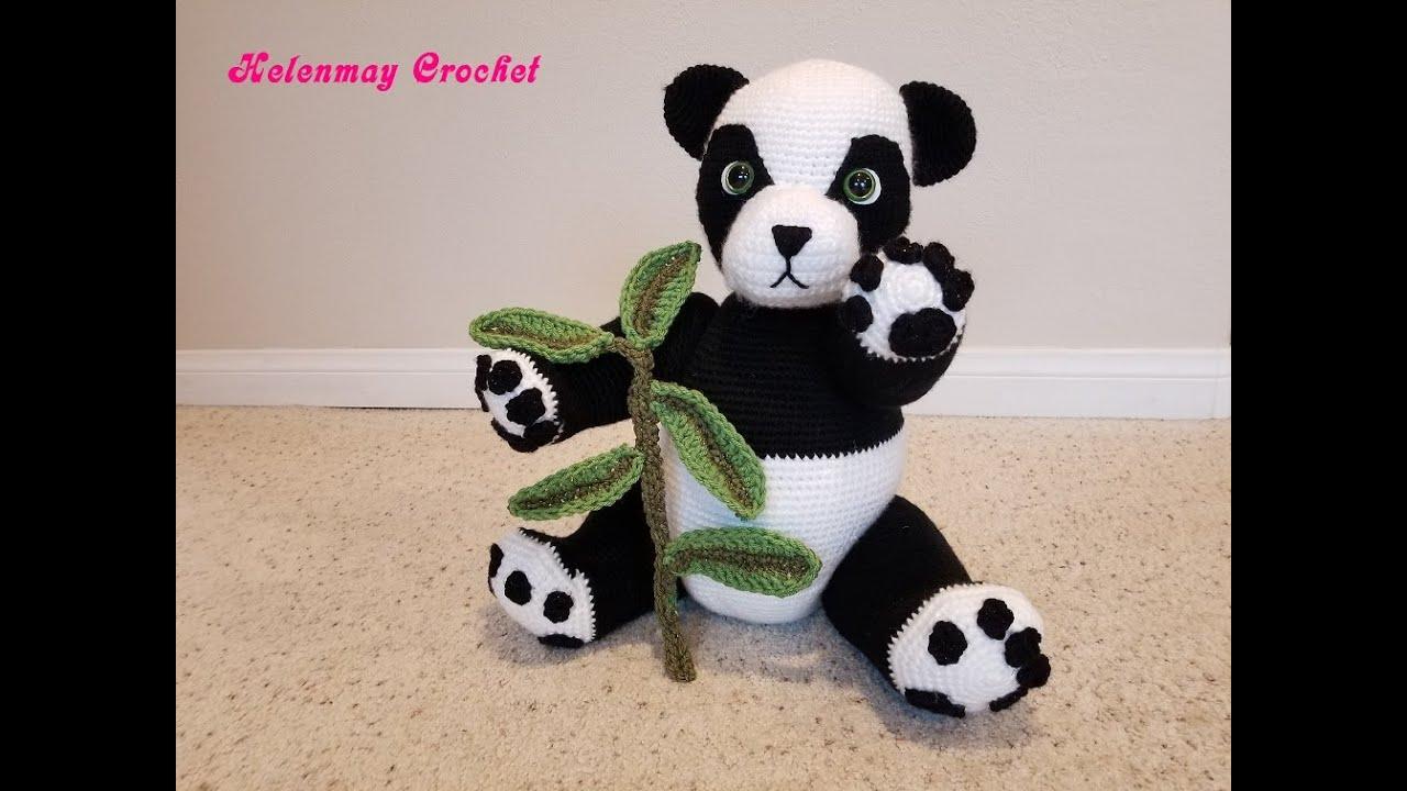 Adorable Panda Bear Amigurumi FREE Crochet Pattern | 720x1280