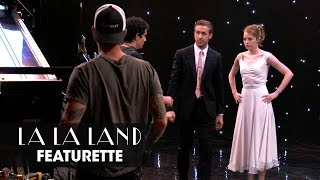 La La Land (2016 Movie) Official Behind-The-Scenes Featurette(La La Land – Now Playing In Theaters. Get tickets now: http://lions.gt/lalalandtickets Starring Ryan Gosling, Emma Stone, John Legend, Rosemarie DeWitt, Finn ..., 2016-11-22T23:21:09.000Z)