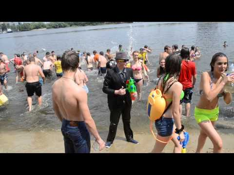 Water Battle in Kyiv 21.06.2015 - 2
