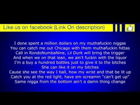YG   My Nigga Remix ft  Lil Wayne, Meek Mill, Rich Homie Quan & Nicki Minaj Lyrics on screen
