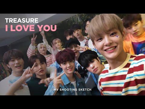 [Pops in Seoul] I LOVE YOU!💚 TREASURE(트레저)'s 🎶MV Shooting Sketch🎨