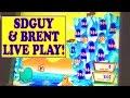 HIGH LIMIT ($8 Bet) w/ SDGUY! 'LUCKY LEMMINGS' WIN!!! Slot Machine Bonus Videos