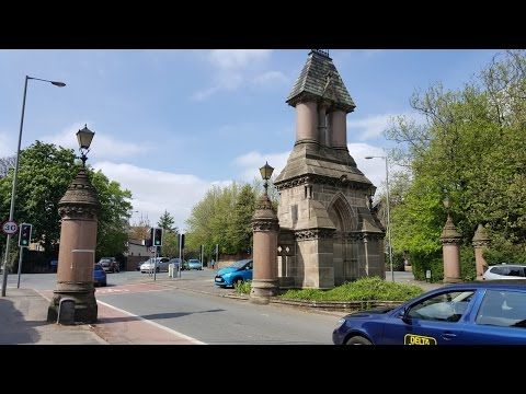 Beautiful Park Liverpool UK 1080P HD
