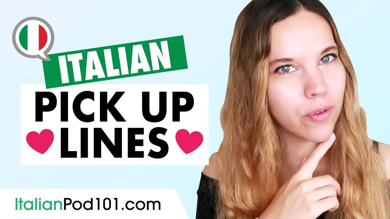Flirt in italian