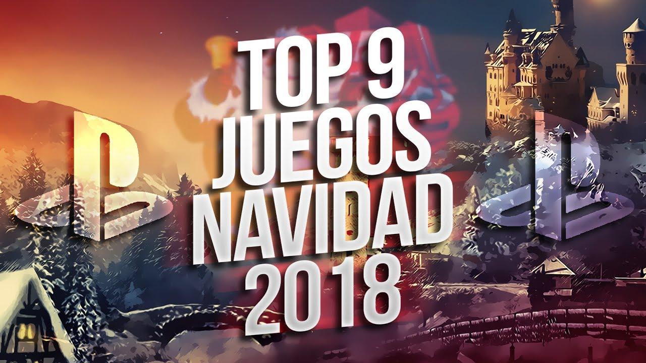 Top 9 Mejores Juegos Para Navidad 2018 Ps4 Youtube