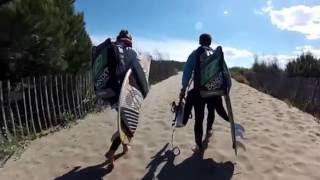 Strapless Kitesurfing In France