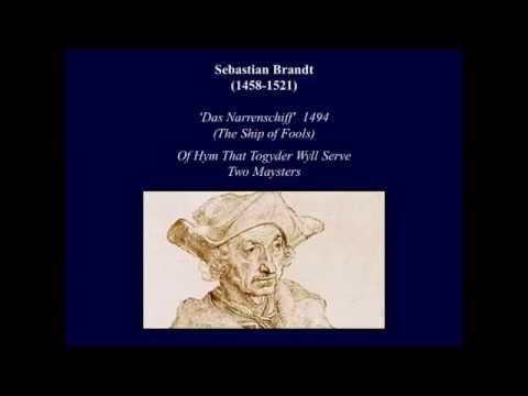 Sebastian Brandt 1457-1521
