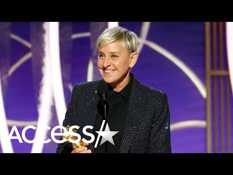 Ellen DeGeneres Delivers Hilarious Speech After Receiving Honor At 2020 Golden Globes