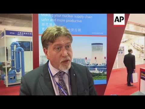 Nuclear technology expo in China